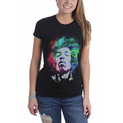Jimi Hendrix - Womens Galaxy T-Shirt