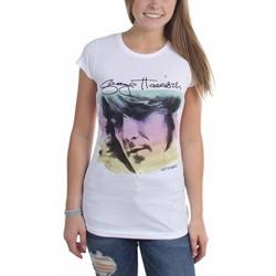 George Harrison - Womens Watercolor Portrait T-Shirt