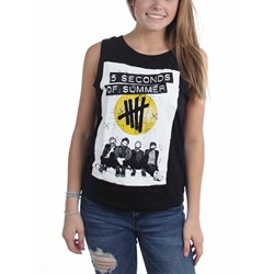 5 Seconds Of Summer - Womens Pull & Bear Tank Top
