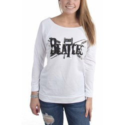 The Beatles - Womens B&W Union Jacklong Sleeve Long Sleeve T-Shirt