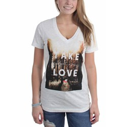 Glamour Kills - Womens Take What You Love V-Neck T-Shirt