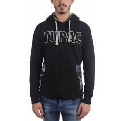 Tupac - Mens Smoke Embroidered Hoodie