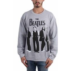 The Beatles - Mens Standing Photo Crewneck Sweater