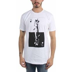 Freddie Mercury - Mens Bw Card T-Shirt