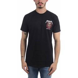 Metallica - Mens Vertigo Pocket Print T-Shirt