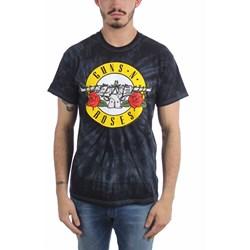 Guns N Roses - Mens Simple Bullet Spider Tie Dye T-Shirt