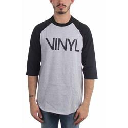 Vinyl - Mens Logo Raglan T-Shirt