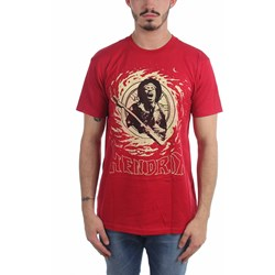 Jimi Hendrix - Mens Cosmic Swirl T-Shirt