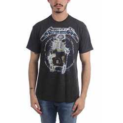 Metallica - Mens Electric Chair Songs T-Shirt