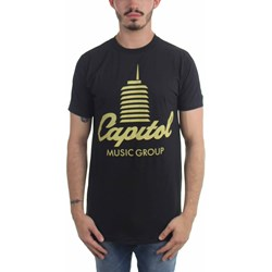 Capitol Records - Mens Tower Logo T-Shirt