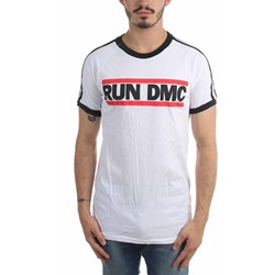 Run Dmc - Mens Horizontal Logo Soccer T-Shirt