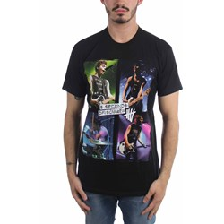 5 Seconds Of Summer - Mens Live In Colours T-Shirt