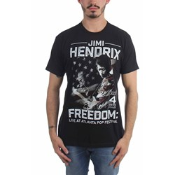 Jimi Hendrix - Mens Atlanta Pop Flag T-Shirt