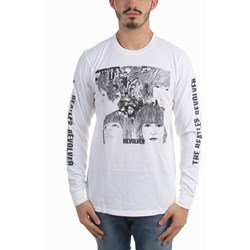 The Beatles - Mens Revolver Cover Long Sleeve T-Shirt