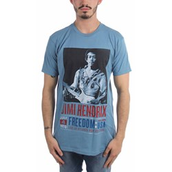 Jimi Hendrix - Mens Atlanta Pop Poster T-Shirt