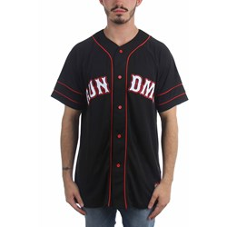Run Dmc - Mens Run Dmc Baseball Basketball Jersey