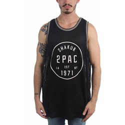 Tupac - Mens Old School Basketball Basketball Jersey
