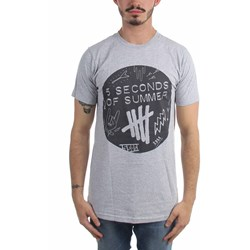 5 Seconds Of Summer - Mens Scribble Logo Shirt 6 T-Shirt