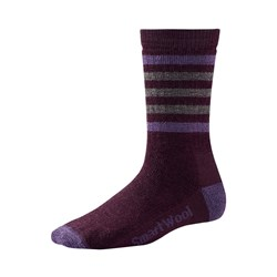 Smartwool - Womens Stripe Hike M Crew Socks