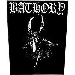 Bathory - Mens Goat Back Patch Accessory