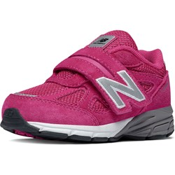 New Balance - unisex-baby Hook and Loop 990v4 Shoes