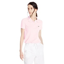 Lacoste Women's Short-Sleeve Pique Polo Shirt in Original Fit
