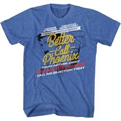 Ace Attorney - Mens Better Call Phoenix T-Shirt