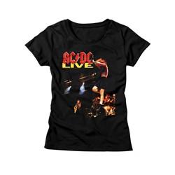 Ac/Dc - Womens Acdc Live T-Shirt