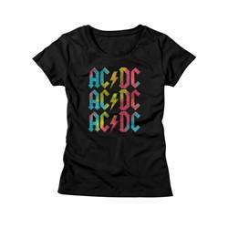 Ac/Dc - Womens Multicolor T-Shirt
