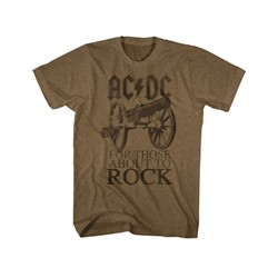 Ac/Dc - Mens About To Rock T-Shirt