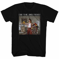 Ace Ventura - Mens Animal Friends T-Shirt