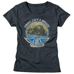 Aerosmith - Womens Rollin T-Shirt