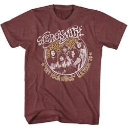 Aerosmith - Mens Getyourwings T-Shirt