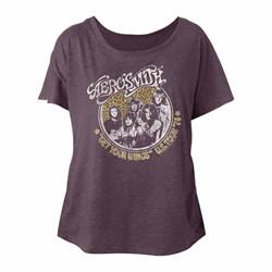 Aerosmith - Womens Getyourwings Triblend Dolman T-Shirt