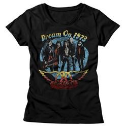Aerosmith - Womens Dream On T-Shirt