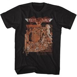 Aerosmith - Mens Toys Album Cover T-Shirt