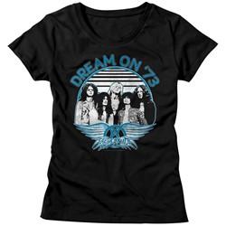 Aerosmith - Womens Dream On Blue & White T-Shirt