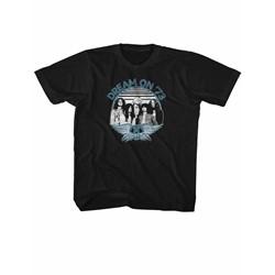 Aerosmith - Youth Dream On Blue & White T-Shirt