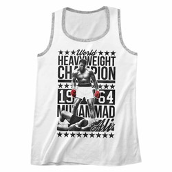 Muhammad Ali - Mens Sixfourchamp Ringer Tank Top