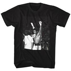 Muhammad Ali - Mens Hands In The Air T-Shirt