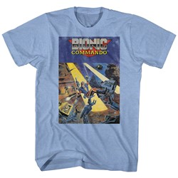 Bionic Commando - Mens Cover T-Shirt