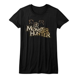 Monster Hunters - Juniors Mh Logo T-Shirt