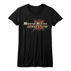 Monster Hunters - Juniors Mhg Logo T-Shirt