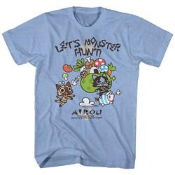 Monster Hunters - Mens Airou Hunter T-Shirt
