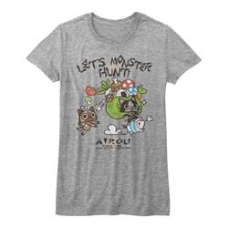 Monster Hunters - Juniors Airou Hunter T-Shirt
