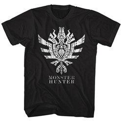 Monster Hunters - Mens Mh4U Symbol T-Shirt
