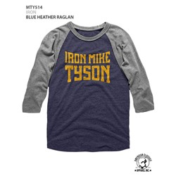 Mike Tyson - Mens Iron Raglan Tee