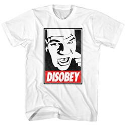 Mike Tyson - Mens Disobey T-Shirt