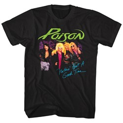Poison - Mens Nothin But A Good Time T-Shirt