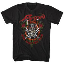 Poison - Mens Ride Like The Wind T-Shirt